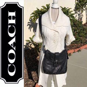 🎉Coach Vintage Early 1990's Hobo Bag Black